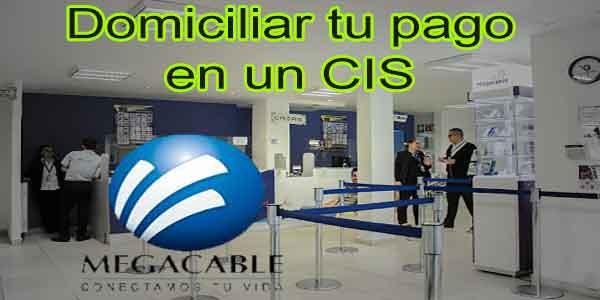 Domiciliar tu pago megacable con tarjeta de crédito desde un CIS