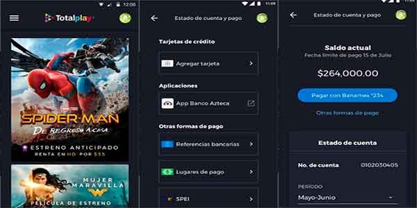Pagar mi recibo de Totalplay desde la App totalplay