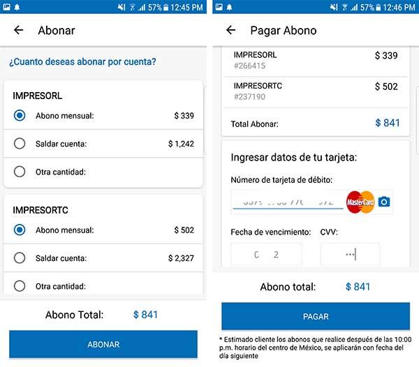 Abonar a tu crédito Coppel con la app móvil