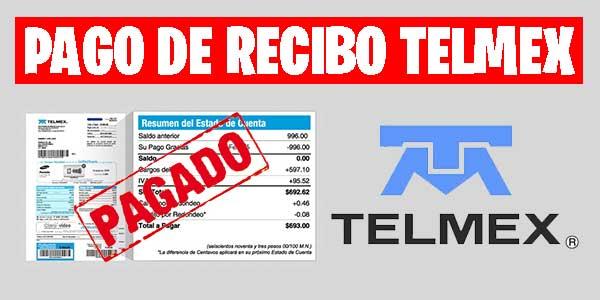 pago de recibo telmex