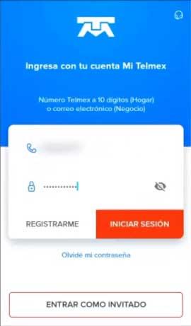pago recibo telmex app